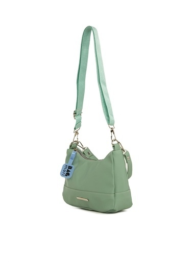 Bagmori  Kadın Parçalı Dikişli Askılı Baget M000006116 Yeşil
